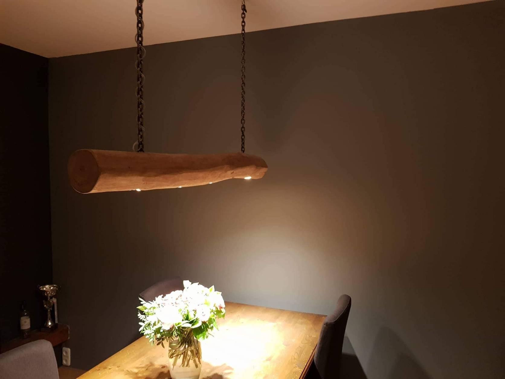 Boomstam hanglamp